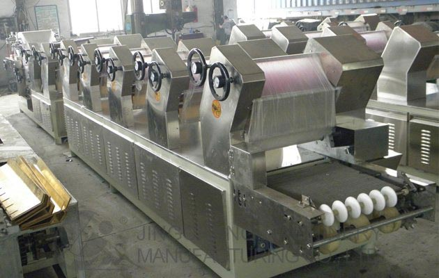 Automatic Fried Instant Noodles Production Line 60000 Bags/shift
