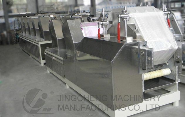 Non Fried Instant Noodles Processing Line