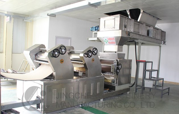 Fried Instant Noodle Making Machines 160,000 Bags/shift