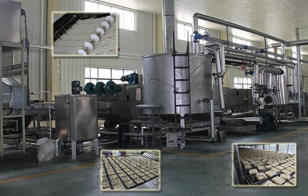 Fried Instant Noodle Production Line Plant Manufacturer 200,000 Bags/Shift