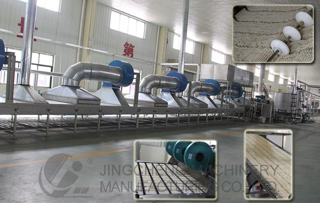 Fried Instant Noodle Processing Line 100000 Bag/Shift