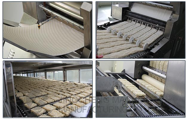 Instant Noodles Manufacturing Process